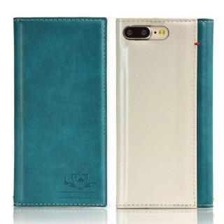 iPhone8 Plus/7 Plus ケース FLAMINGO PUレザー手帳型ケース ターコイズ iPhone 8 Plus/7 Plus