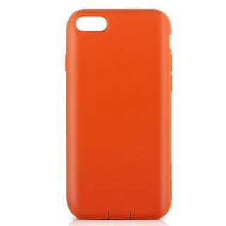 Cushion 衝撃吸収シリコンケース オレンジ iPhone 7