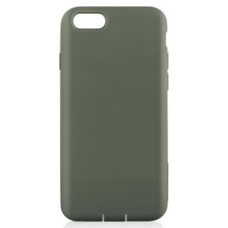 Cushion 衝撃吸収シリコンケース カーキ iPhone 7
