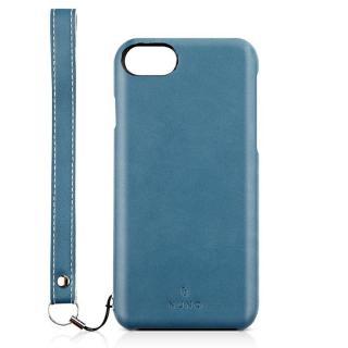 NUNO バックカバーケース ブルー iPhone 7
