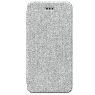 FlipShell 背面クリア手帳型ケース メランジグレー iPhone 7