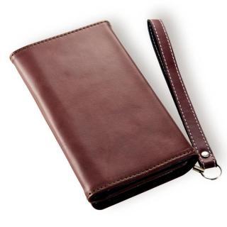 Billfold ノートカード手帳型ケース ブラウン iPhone 7