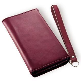 Billfold ノートカード手帳型ケース ワインレッド iPhone 7