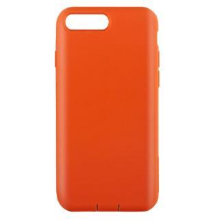 【iPhone7 Plusケース】Cushion 衝撃吸収シリコンケース オレンジ iPhone 7 Plus