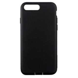 Cushion 衝撃吸収シリコンケース ブラック iPhone 7 Plus