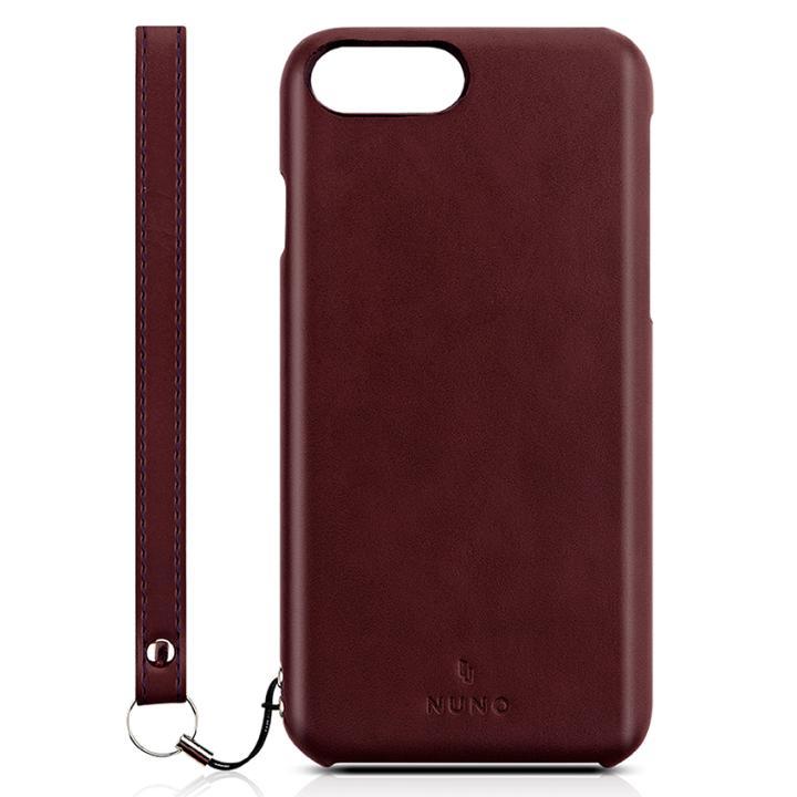 【iPhone7 Plusケース】NUNO バックカバーケース ワインレッド iPhone 7 Plus_0