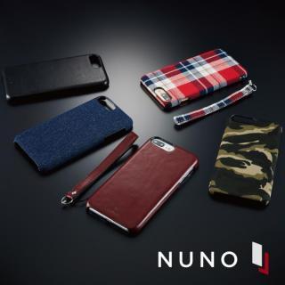 【iPhone7 Plusケース】NUNO バックカバーケース ワインレッド iPhone 7 Plus_2