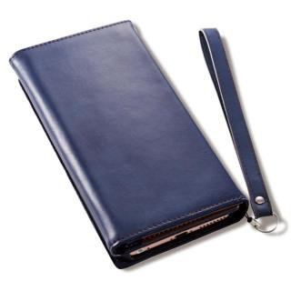 Billfold ノートカード手帳型ケース ネイビー iPhone 7 Plus