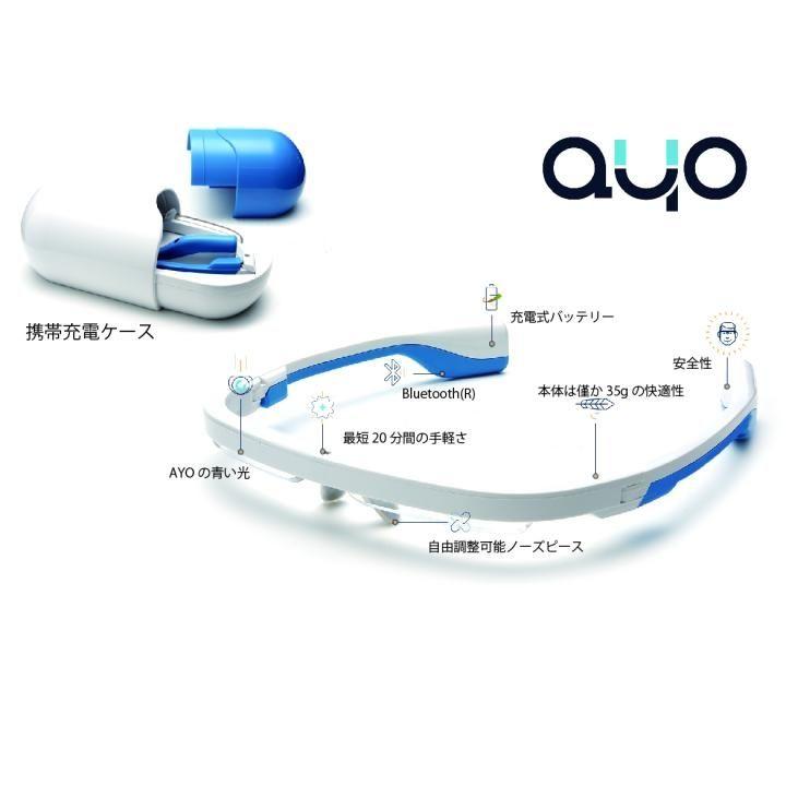 メガネ型ウェアラブルデバイス AYO(アイオ)【9月下旬】