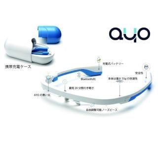 メガネ型ウェアラブルデバイス AYO(アイオ)【12月上旬】