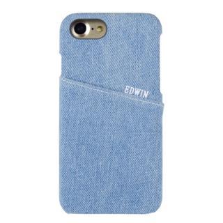 EDWIN ハードケース アジャストall ライトブルー iPhone 7