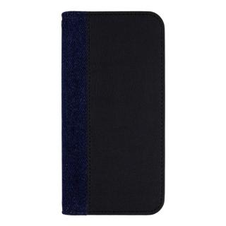 EDWIN 手帳型ケース センターデニム ブラック iPhone 7