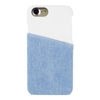 EDWIN ハードケース アジャストharfデニム ホワイト iPhone 7