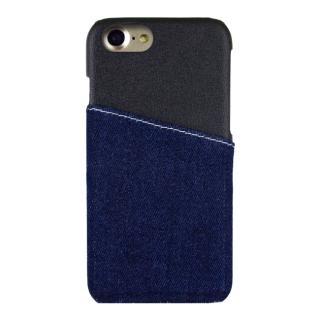 EDWIN ハードケース アジャストharfデニム ブラック iPhone 7