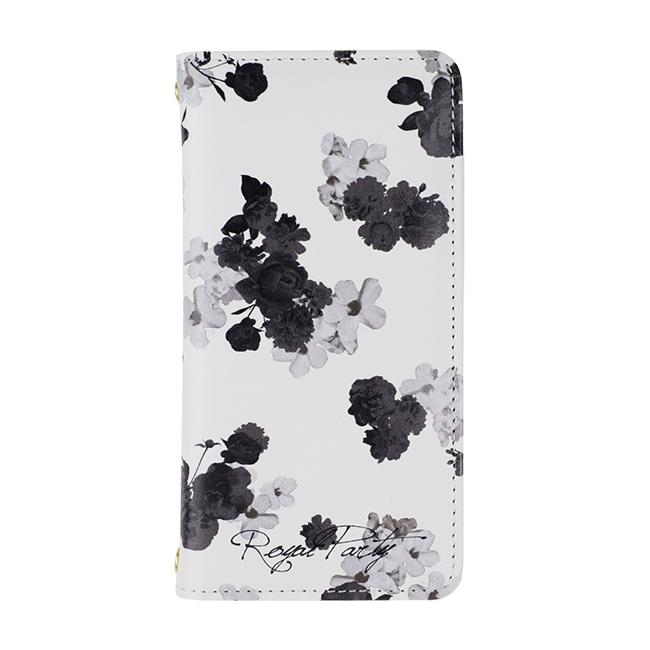 RoyalParty 手帳型ケース 内側プリント/ホワイト iPhone 7