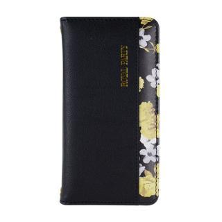 RoyalParty 手帳型ケース 内側プリント/ブラック iPhone 7