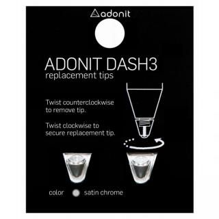 ADONIT DASH 3 交換用チップ(シルバー)