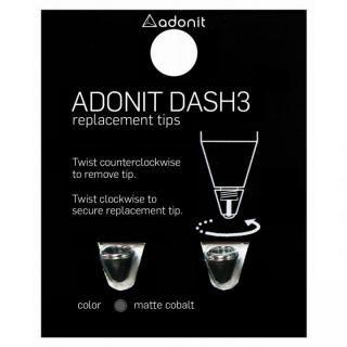 ADONIT DASH 3 交換用チップ(ブラック,ブロンズ)
