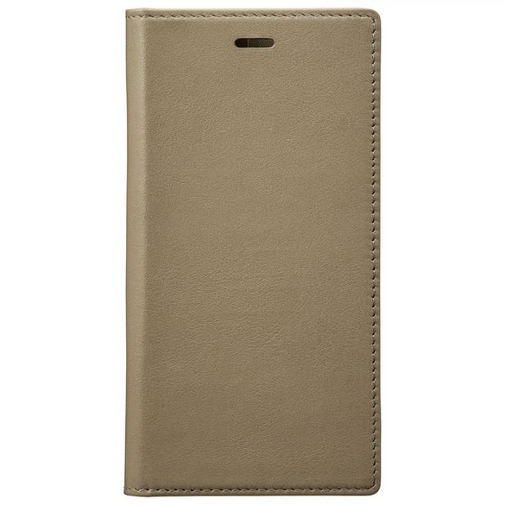 Full Leather Case for iPhone X Taupe