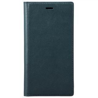 GRAMAS フルレザー手帳型ケース ネイビー iPhone X