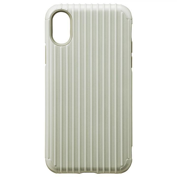 iPhone XS/X ケース GRAMAS COLORS ハイブリッドケース Rib ホワイト iPhone XS/X_0