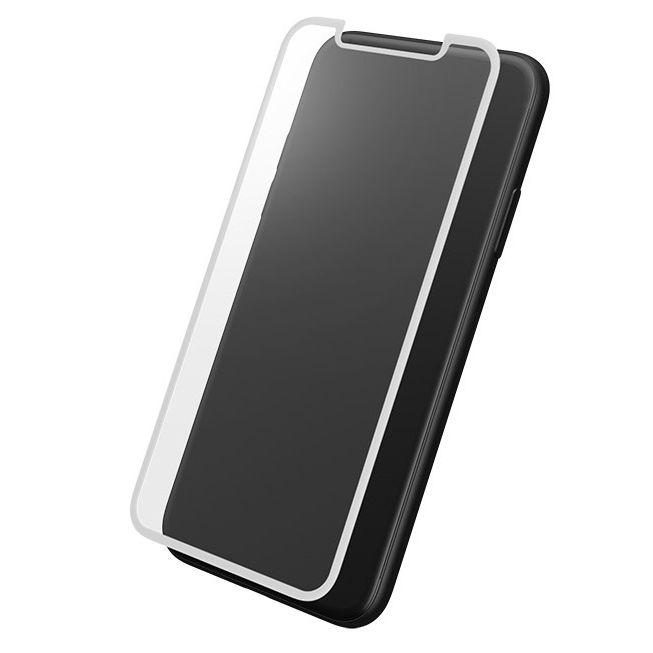 iPhone XS/X フィルム GRAMAS 全面保護強化ガラス ホワイト iPhone XS/X_0