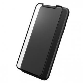 【iPhone X】GRAMAS 全面保護強化ガラス ブラック iPhone X