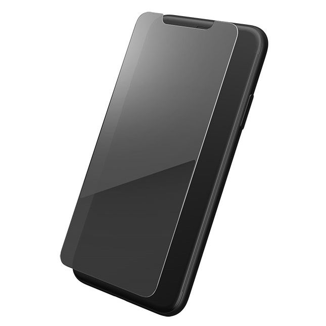 【iPhone XS/Xフィルム】GRAMAS FEMME ミラー加工 強化ガラス シルバー iPhone XS/X_0