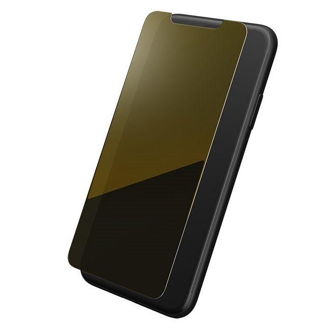 iPhone XS/X フィルム GRAMAS FEMME ミラー加工 強化ガラス ゴールド iPhone XS/X_0