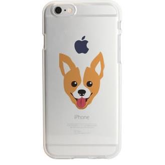 iPhone6s ケース アップルマークデザイン TPUクリアケース ウェルシュ・コーギー iPhone 6s_0