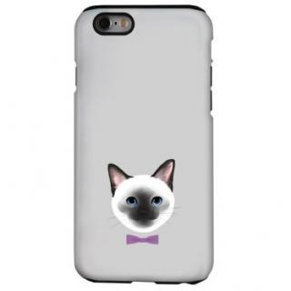 猫デザインハードケース シャム iPhone 6s