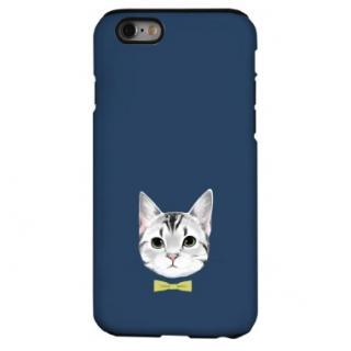 猫デザインハードケース アメリカン・ショートヘア iPhone 6s