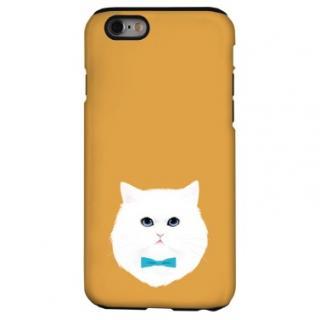猫デザインハードケース ペルシャ iPhone 6s