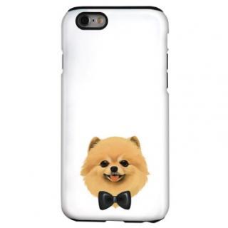 犬デザインハードケース ポメラニアン iPhone 6s