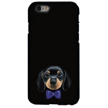 【iPhone6sケース】犬デザインハードケース ダックスフント iPhone 6s_0