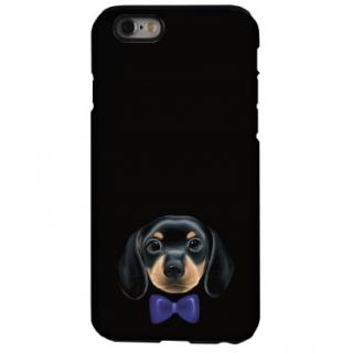 iPhone6s ケース 犬デザインハードケース ダックスフント iPhone 6s
