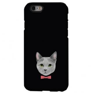 iPhone6s ケース 猫デザインハードケース ロシアンブルー iPhone 6s