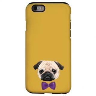 犬デザインハードケース パグ iPhone 6s