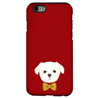 iPhone6s ケース 犬デザインハードケース マルチーズ iPhone 6s