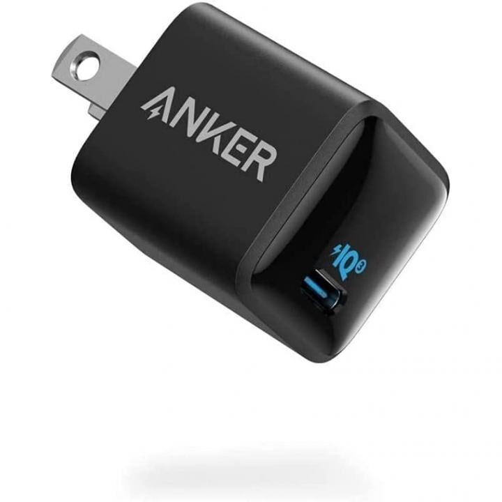 Anker PowerPort III Nano 20W USB-C急速充電器 ブラック【10月下旬】_0
