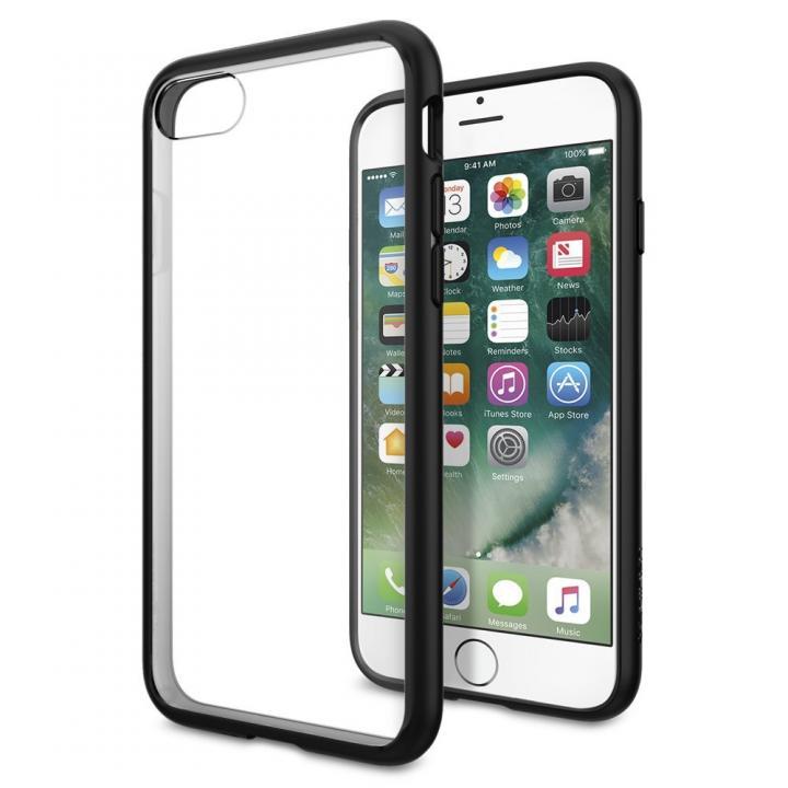 Spigen ウルトラハイブリットケース ブラック iPhone 7