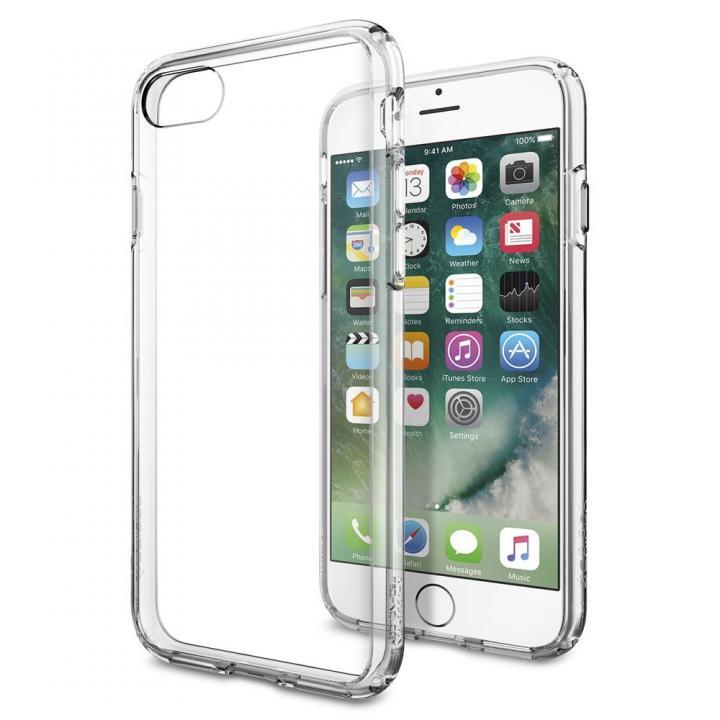 【iPhone 7】Spigen ウルトラハイブリットケース クリスタルクリア