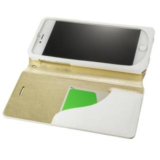 【iPhone8 Plus/7 Plusケース】GRAMAS FEMME PUレザー手帳型ケース Colo ホワイト iPhone 8 Plus/7 Plus_1