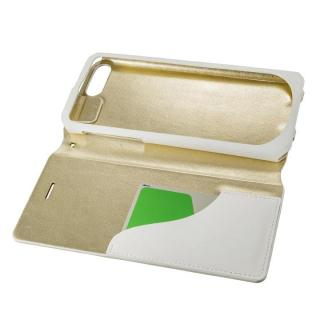 【iPhone8 Plus/7 Plusケース】GRAMAS FEMME PUレザー手帳型ケース Colo ホワイト iPhone 8 Plus/7 Plus_2