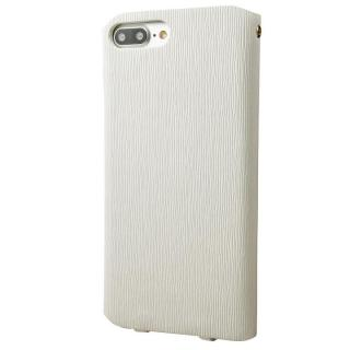 【iPhone8 Plus/7 Plusケース】GRAMAS FEMME PUレザー手帳型ケース Colo ホワイト iPhone 8 Plus/7 Plus_4
