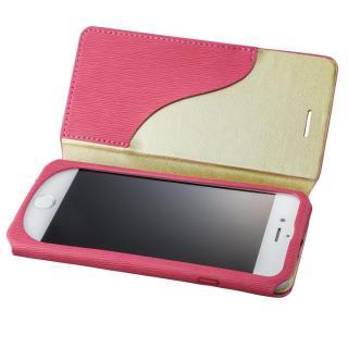 GRAMAS FEMME PUレザー手帳型ケース Colo ピンク iPhone 7
