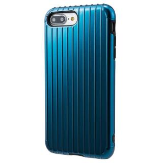 GRAMAS COLORS Rib ハイブリッドケース ネイビー iPhone 8 Plus/7 Plus