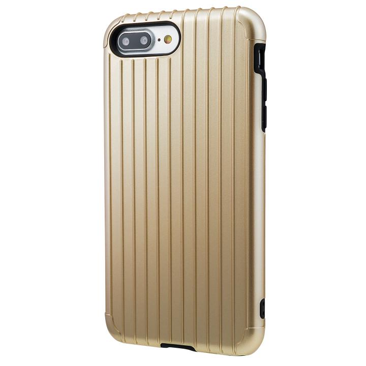 iPhone8 Plus/7 Plus ケース GRAMAS COLORS Rib ハイブリッドケース ゴールド iPhone 8 Plus/7 Plus_0