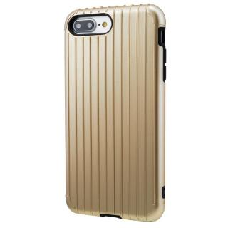 iPhone8 Plus/7 Plus ケース GRAMAS COLORS Rib ハイブリッドケース ゴールド iPhone 8 Plus/7 Plus