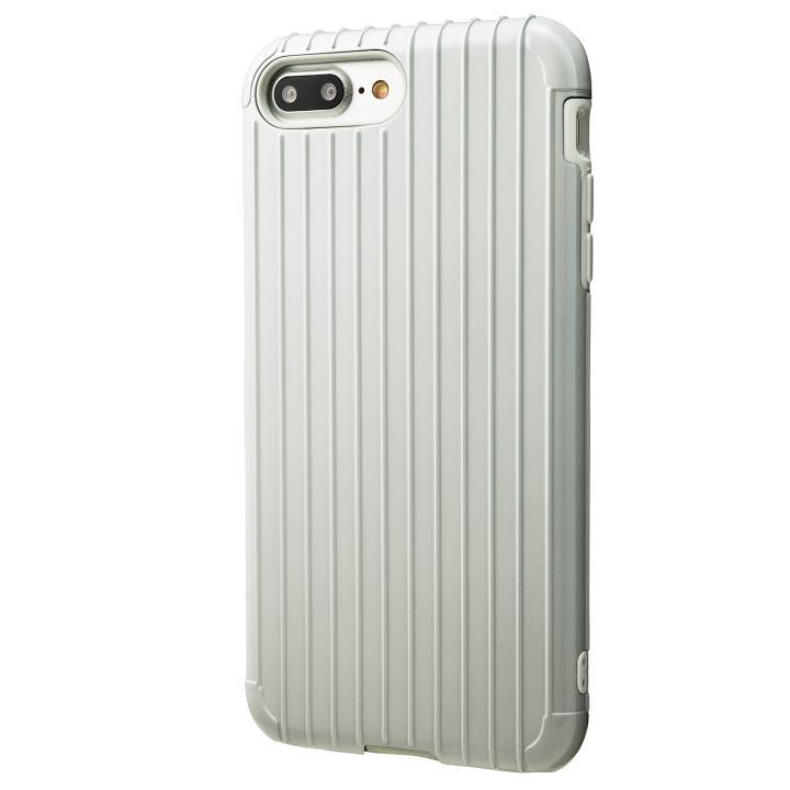 【iPhone8 Plus/7 Plusケース】GRAMAS COLORS Rib ハイブリッドケース ホワイト iPhone 8 Plus/7 Plus_0